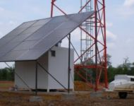 solar panel system 1a